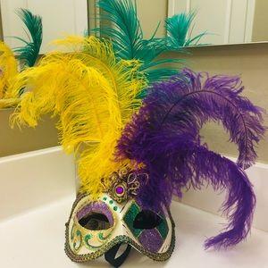 Mardi Gras Italian Mask - La Maschera Del Galeone